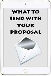 What to send your proposal